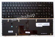 New FOR Clevo Sager NP8171 NP8172 NP8173 Keyboard US Color Backlit Crystal