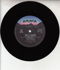 "THE KINKS  Do It Again 7"" 45 rpm vinyl record + juke box title strip"