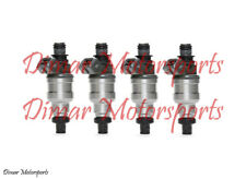 *Lifetime Warranty* 2.0L 1.8L Genuine BOSCH Fuel Injector Set Upgrade 4-Hole