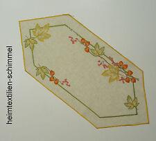 Plauener punta ® mantel lino tischdeckchen tapetes otoño manta 39x88cm