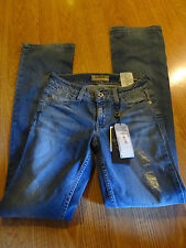 Guess denim Jeans SIZE 24 R NICOLE BOOT MEDIUM RISE NWT SOME DISTRESSED MISSES