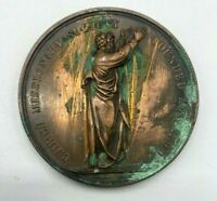 Church Missionary Society Founded 1799 Large Copper Medal B75