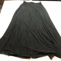 Tadashi Black Long Maxi Skirt Size 10 A1852