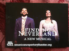 Jeremy Jordan Finding Neverland  Musical ad/flyer  Laura Michelle Kelly  A.R.T
