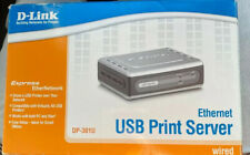 D-Link DP-301U USB Print Server Wired Ethernet 10/100Mb