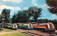 1950s ROYAL OAK MICHIGAN Detroit Zoological Gardens Miniature railroad 5378
