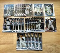 (x24 Lot) Gleyber Torres - Clint Frazier - Ford etc. (RC) CHROME (1st Bowman) NY