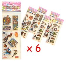 Avengers Sticker Sheets x 6 Superhero Birthday Party Lolly Bag Treat Box Filler