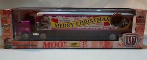 1/64 M2 Machines Haulers Moon Pie Merry Christmas Happy Holidays  Studebaker 49