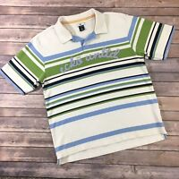 Mens Ecko Unltd Short Sleeve Polo Shirt  Striped Size Large L