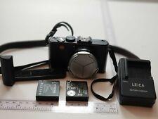 Leica D-LUX 5 10.1MP Digital Camera Black w grip, auto close lens cover, strap