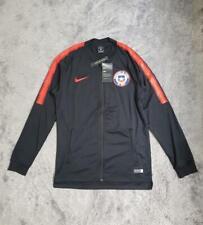 Men's Nike Chile National Football Team Dry Squad Jacket 898785-011 Black sz S M