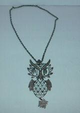 VERY NEAT LARGE JOINTED OWL NECKLACE