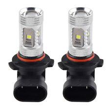 2pcs 6000K LED Light H10 30W Car Fog Daytime Running Lamp Bulbs 9145 9140 1200LM