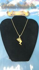 Women Fashion Jewelry Gold Plated Queen Nefertiti Necklace