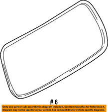 FORD OEM Lift Gate Tail Tailgate-Weatherstrip Weather Strip Seal 8L2Z7842084A