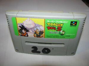 Dragon Ball Z Super Butouden 3 Super Famicom SFC Japan import US Seller