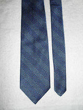 GENE MEYER IRIDESCENT SILK TIE HAND SEWN EXCELLENT FROM ITALY.!