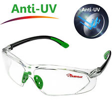 Safeyear Safety Glasses Eye Protective Clear Anti-UV Soft TPR Goggles Frame Z87+