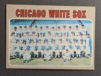 1970 Topps #501 Chicago White Sox Team Card EXMT