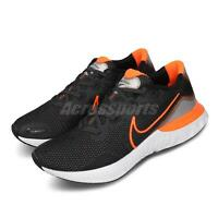 Nike Renew Run Black Orange Mens Running Shoes Runner Sneakers CK6357-001