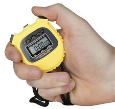 SPORTS STOPWATCH, WATER RESISTANT, 1/100th of a second sports timer