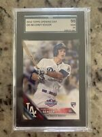 2016 Topps Opening Day Corey Seager RC Rookie SGC 10 LA Dodgers (Not PSA) #OD-48