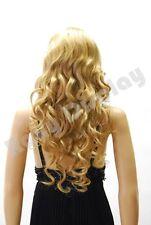 Female Wig Head Hair Mannequin Blonde #WG-OK855-27H613