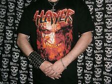 ** RARA oficial 2000c Slayer Ultimate Hanes Algodón va a durar años Metallica Int