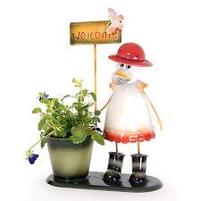 Anatra in Red Hat Fiore / titolare dell' impianto Giardino Animale fioriere con segno positivo