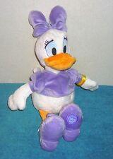 "Disney Store Donald Girlfriend Daisy Duck 16"" Plush Bean Bag Toy"