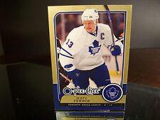 Rare Mats Sundin O-Pee-Chee 2008 Jumbo Card #TRU4 Toronto Maple Leafs
