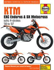 Haynes Manual 4629 - KTM 250EXC, 400EXC, 450EXC, 520EXC, 525EXC, 400SX, 450SX