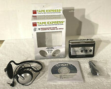 ION Tape Express Plus Tape to MP3 Digital Converter & Player with Headphones