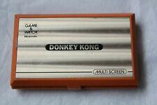 VINTAGE NINTENDO GAME & WATCH DONKEY KONG DK-52 1982