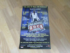 JAILHOUSE ROCK the  ELVIS Musical PICCADILLY Theatre Poster