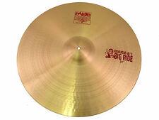 "Paiste 2002 24"" 'Reverend Al's Big Ride Cymbal - Excellent Demo Model"