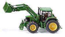 Siku John Deere mit Frontlader Kinder Traktor Fahrzeug Spielmodell Spielzeug NEU