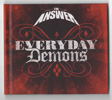 THE ANSWER Everyday Demons (2009) 2X CD Special Edition VG+/M- HARD HEAVY ROCK