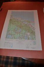 1940's Army topo map Sandwich Massachusetts- Cape Cod -Sheet 6967 III NW