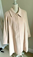 WOMENS LINED COAT WOOL & CASHMERE IN VERY GOOD COND SIZE 18 PROCEEDS TO CHARITY