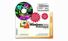 Microsoft Windows 2000 Professional w/SP2 Full Version NEW!!