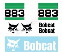 Bobcat 883 v2 Skid Steer Set Vinyl Decal Sticker - FREE SHIPPING