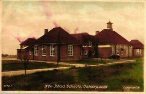 Shropshire Postcard C1955 Oakengates New Road Schools Wrockwardine Wood Girls?