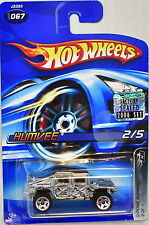 Hot Wheels 2006 Chrome Burnerz Humvee #067 Silver Factory Sealed