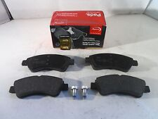Peugeot 206 207 208 307 1007 Front Brake Pads Set 2000-On *GENUINE APEC*