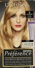 L'OREAL INFINIA PREFERENCE PARIS 8 CALIFORNIA NATURAL MID BLONDE HAIR COLOUR