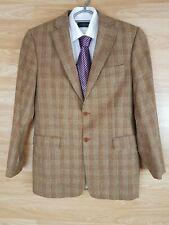 Mens Gents Hardy & Crofther Francesco 100% Worsted Virgin Wool Tweed Jacket 38R