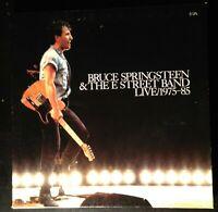 BRUCE SPRINGSTEEN & THE STREET BAND LIVE/1975-85 5 VINYL LP BOX VG+ C5X 40558