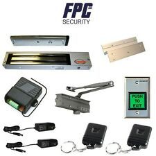 Fpc-5052 One door Access Control inswinging door 600lbs Electromagnetic lock kit